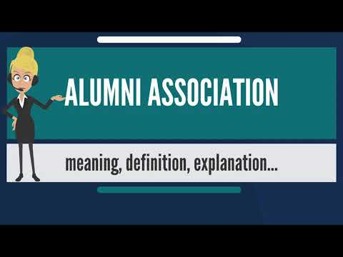 What is ALUMNI ASSOCIATION? What does ALUMNI ASSOCIATION mean? ALUMNI ASSOCIATION meaning