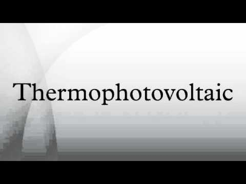 Thermophotovoltaic