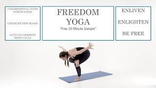 YOGA TO RAISE THE SACRED SECRETION / CHRIST OIL -  (Freedom Yoga Sample)