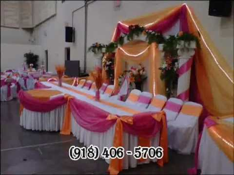 Decoraciones bodas y quinceaneras tulsa youtube - Decoraciones de bodas ...