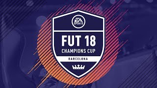 LIVE! FIFA 18 FUT Champions Cup Barcelona Finals with Spencer FC! 🏆
