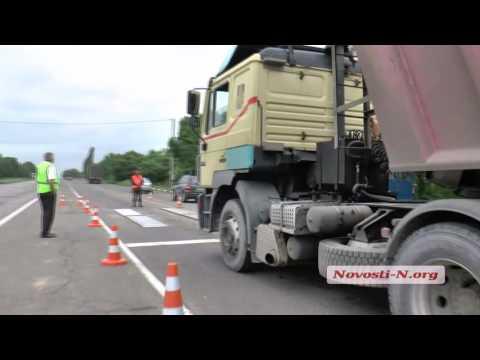 Видео 'Новости-N': В Николаеве на весовой очередь