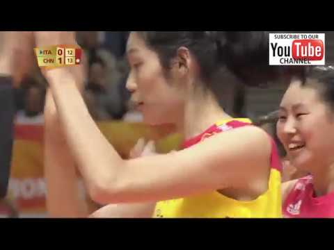Italy vs China female world championship 2018 - Full Match H