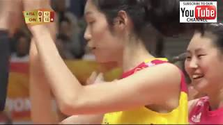 Italy vs China female world championship 2018 - Full Match Highlights - HD
