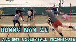 RUNNING MAN 2.0 - Ancient Volleyball Techniques #23
