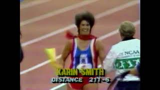 Karin Smith - Javelin Throw - 1990 Prefontaine Classic