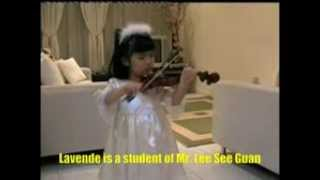 3 year old violinist   ( Malaysian violinist )