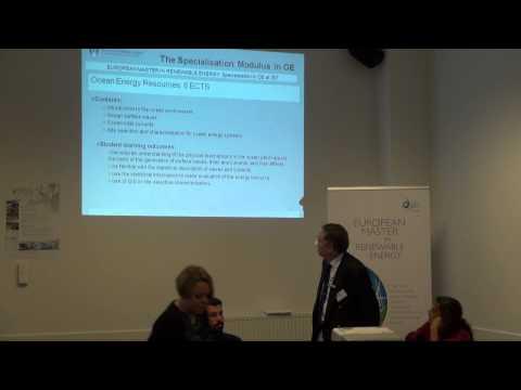 EUREC Master Ocean Energy Specialisation
