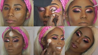 How To Cut Crease On SMALL / Hooded Eyes | Layering colors