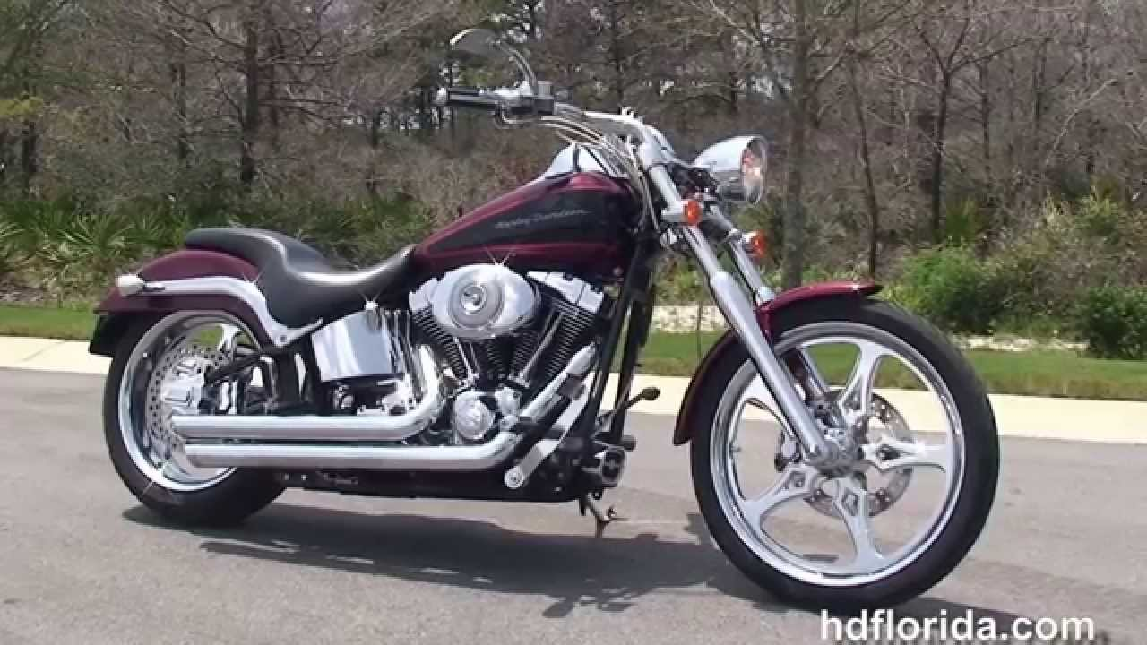 Used 2002 Harley Davidson Softail Deuce Motorcycles For Sale