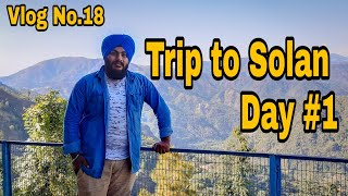 Trip to Solan near Shimla Day 1 | Vlog 18 | Jatoli temple | Gurudwara Shaib in Solan