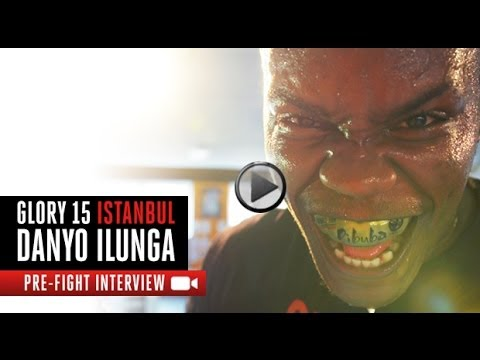 GLORY 15 Istanbul - Danyo Ilunga Pre Fight Interview