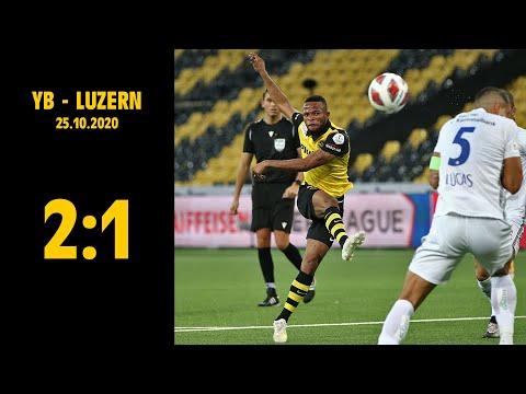 YB - Luzern (2:1), 25.10.2020   Raiffeisen Super League