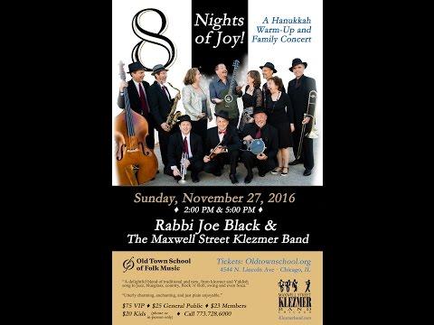 Hanukkah With Rabbi Joe Black And The Maxwell Street Klezmer Band