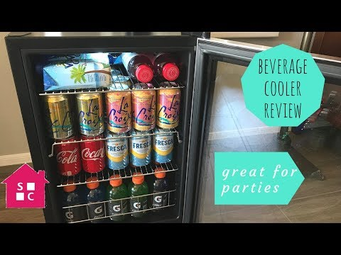 Space Saving Beverage Cooler that Holds A Lot