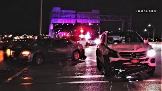 Cop Ejected from Vehicle on Whitestone Expressway