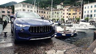 New Maserati Levante in Gardone Riviera, Italy
