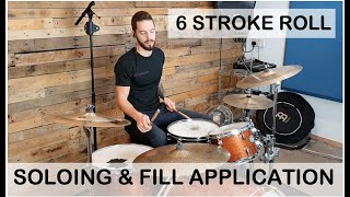 EASILY FLOW AROUND THE KIT - 6 stroke roll
