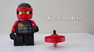 Lego Ninjago 70633 spinjitzumasters Kai. Unboxing, building, playing and tricks.