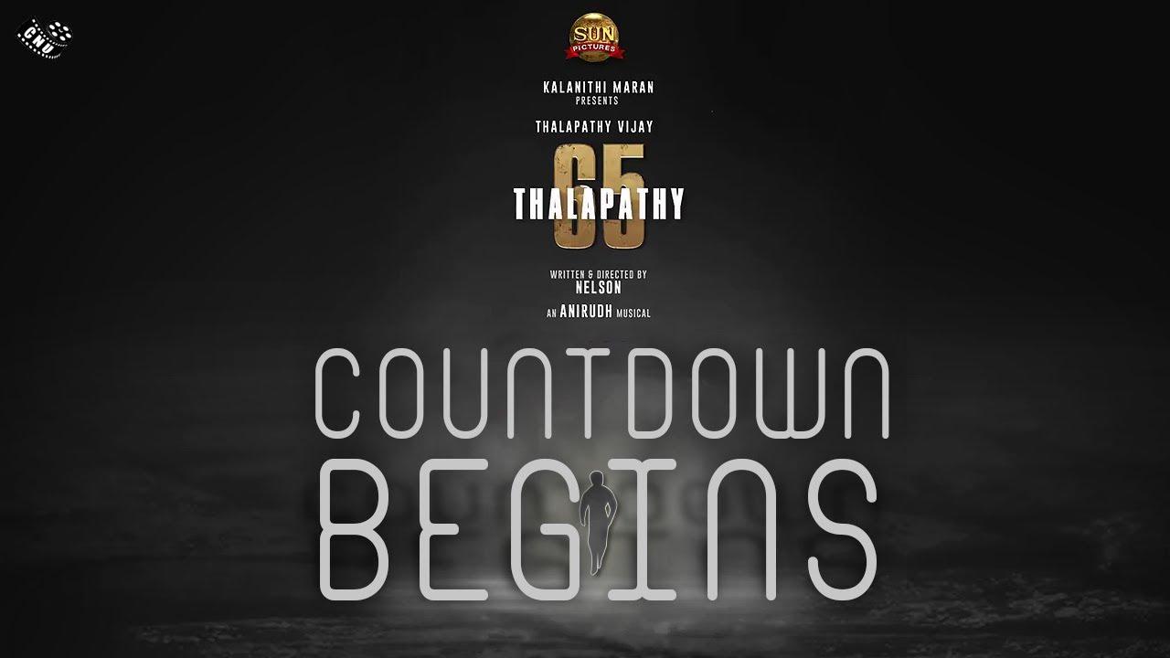Thalapathy 65 First Look Countdown Begins – Vijay Massive Getup | Vijay Birthday Wishes | Nelson