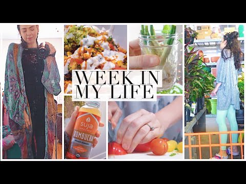 #44 WIML: Boho Maternity Clothes, Cooking & Plant Shopping!