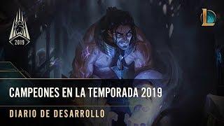 Campeones en la temporada 2019 | Diario de desarrollo - League of Legends
