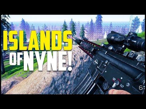 *NEW* Flinch-Shooter Battle Royale Game! - Islands of Nyne: Battle Royale Gameplay #1