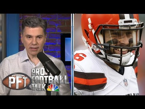 Baker Mayfield believes Odell Beckham Jr. is happy in Cleveland | Pro Football Talk | NBC Sports