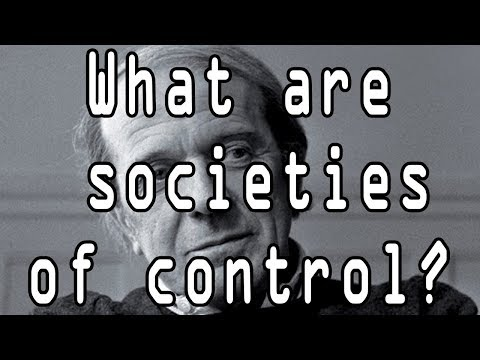 What are societies of control?