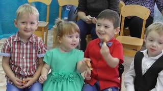 Осенний бал у Томочки! Видео для детей! 2018 год.