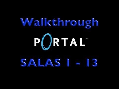 PORTAL - Walkthrough Salas 1 - 13