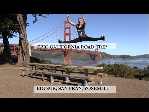 Epic California Road Trip Big Sur, San Francisco, Sonoma & Yosemite