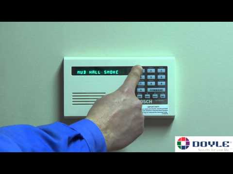Doyle Security Systems - How To Use Basic Keypad Functions on a Bosch Panel