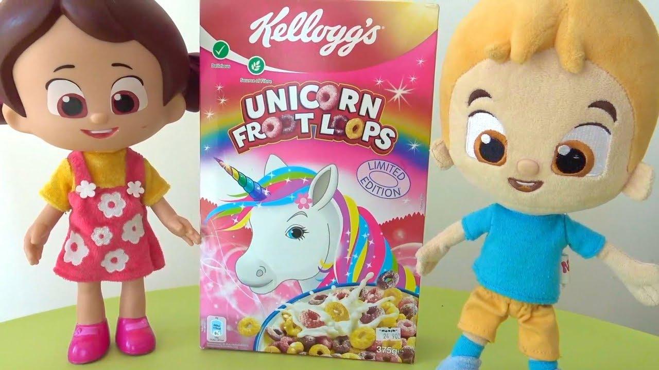 Niloya Mete Tospik Kellogg S Unicorn Froot Loops Saglikli