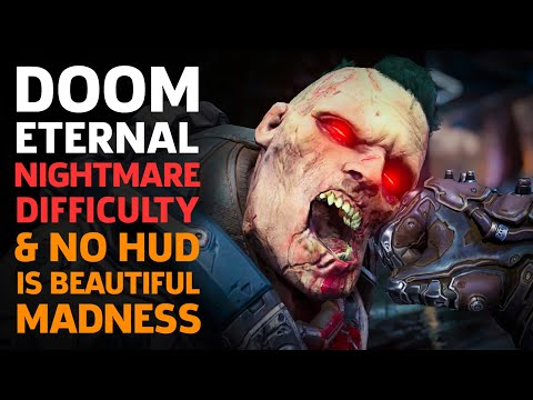 Doom Eternal Nightmare Difficulty With No HUD Is Beautiful Madness