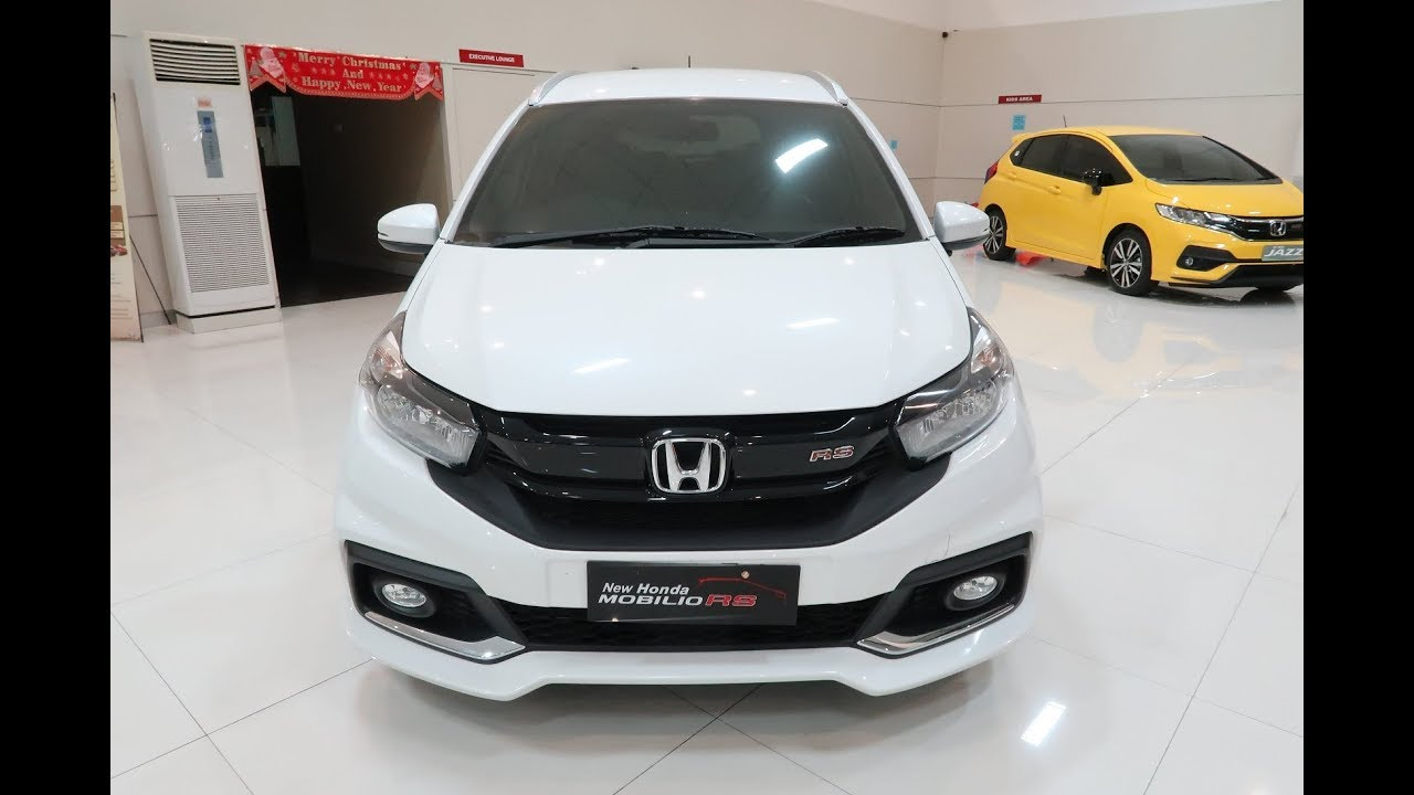 Honda New Mobilio Rs 2019 Automatic Cvt Youtube