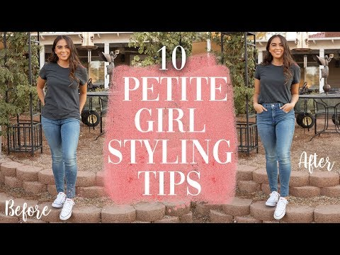 HOW TO LOOK TALLER // 10 PETITE GIRL STYLING TIPS |. http://bit.ly/2WDEyq3