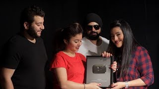 Arabish SILVER PLAY BUTTON!!! YouTube 100,000 Subscribers Award!