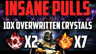 INSANE CRYSTAL OPENING! - 10x Taskmaster GMC's & MORE!- Marvel Contest of Champions