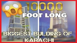 Top 5 Biggest Buildings Of Karachi | Video By | Syed Asad