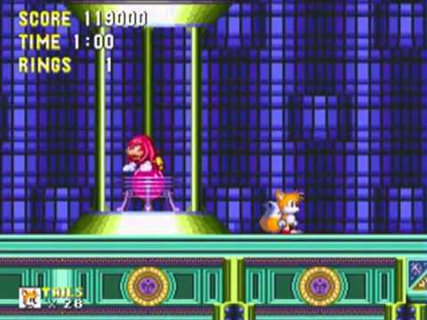 Super Knuckles And Super Tails Tails Knuckles Sonic 3
