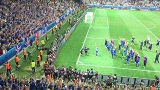Последняя минута матча Англия : Исландия и клич победителей