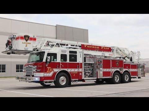 Velocity® 100' Heavy-Duty Platform – Tucson Fire Department, AZ