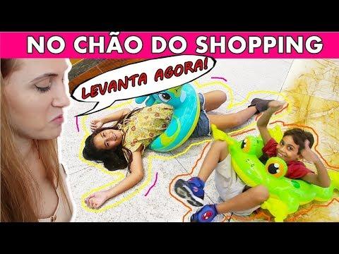 Bela Bagunça e Magu NO SHOPPING FAZENDO MUITA BAGUNÇA - Video Especial