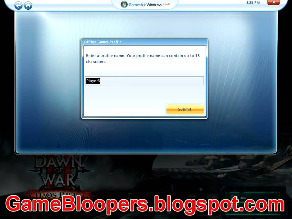 Tutorial Offline Account On Games For Windows Live Youtube