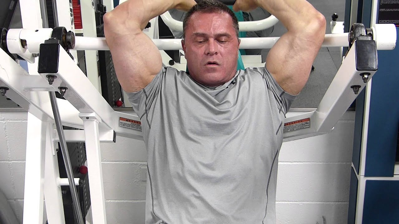 overhead tricep extension machine