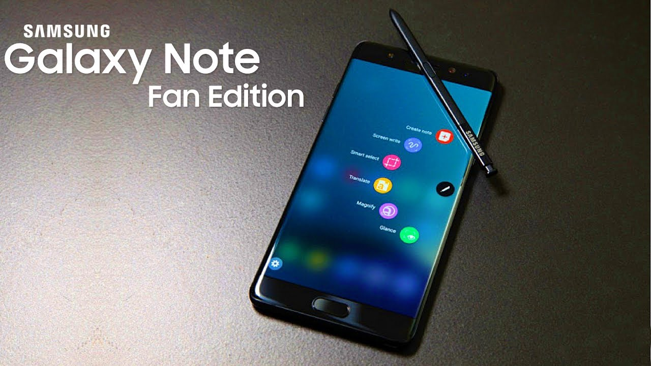Galaxy Note Fan Edition Is OFFICIAL