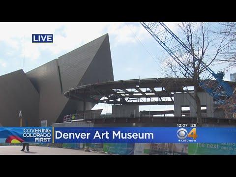 Denver Art Museum Celebrates Construction Milestone