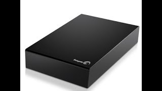 Seagate 3 TB hard drive unboxing