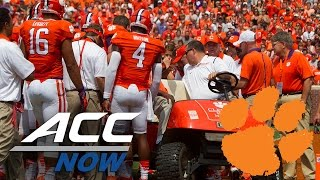 Clemson WR Mike Williams Diagnosed With Neck Fracture
